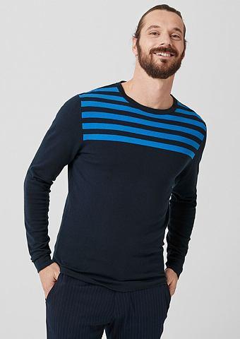 Пуловер с Streifen
