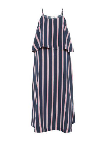 NAME IT С узором платье-макси длинное