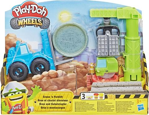 Knetset »Play-Doh Wheels Kran &a...