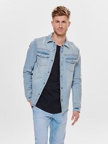 ONLY & SONS ONLY & SONS джинсы рубашка с длинн...