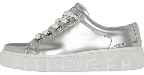 TOMMY HILFIGER Кеды »METALLIC TOMMY FASHION SNE...