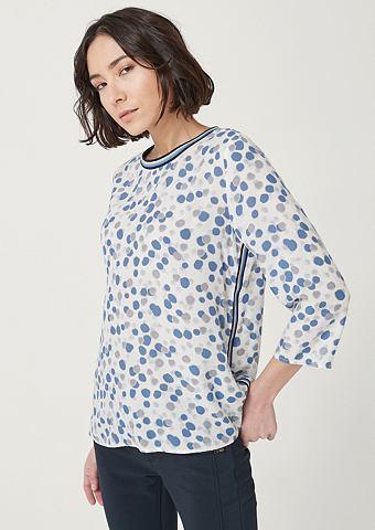 COMMA C рукавом три четверти (3/4) блуза с д...