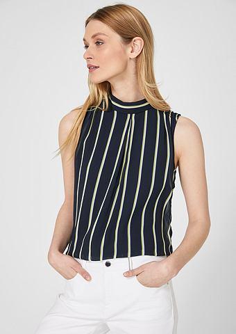 Элегантный блузка-топ из шифон