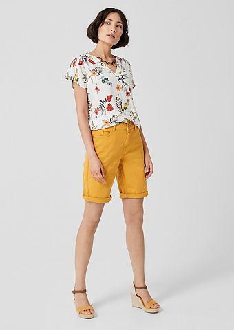 S.OLIVER RED LABEL Элегантный Bermuda: Coloured Shorts&nb...