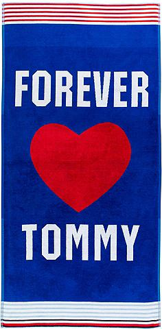 TOMMY HILFIGER Пляжное полотенце »Forever«...