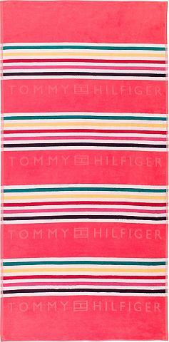 TOMMY HILFIGER Пляжное полотенце »Graphic«...