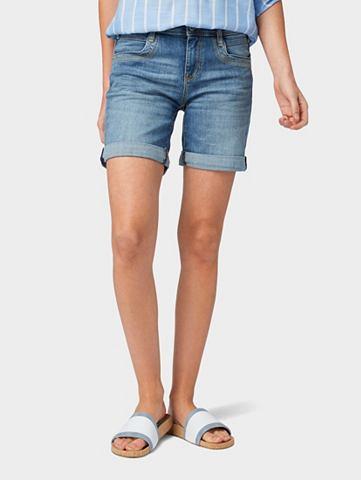 TOM TAILOR Бермуды джинсовые »Alexa шорты б...