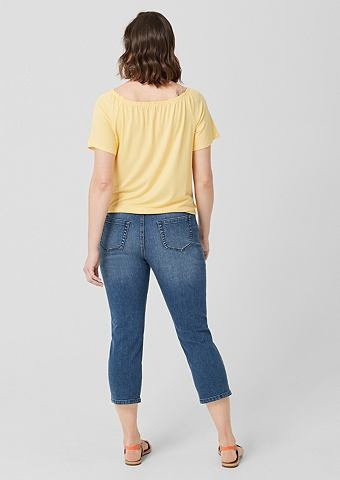 TRIANGLE Curvy узкий Leg: джинсы в 7/8 длины