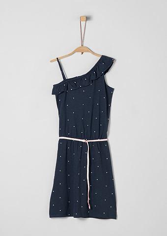 S.OLIVER RED LABEL JUNIOR Асимметричный крой платье с пояс для M...