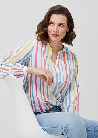 Блузка хлопковая с Streifen