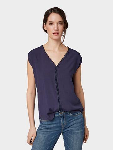 TOM TAILOR Блузка-футболка »Schlichte Bluse...