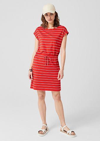 S.OLIVER RED LABEL Полосатый платье из джерси