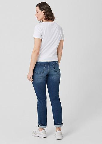 Curvy узкий Leg: джинсы