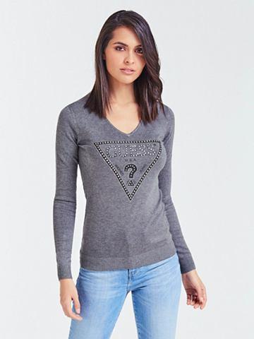 GUESS Пуловер с V-образным вырезом