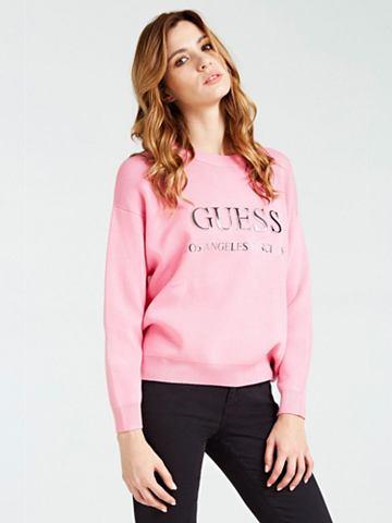 GUESS Пуловер с круглым вырезом