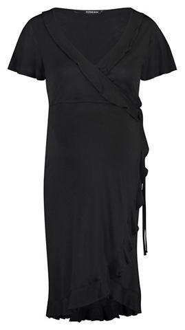 SUPERMOM Платье »Wrap Black Nurs«