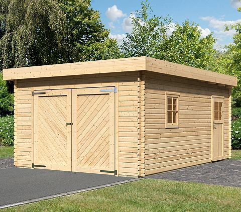 KARIBU Одноместный гараж BxT: 417x571 cm Einf...