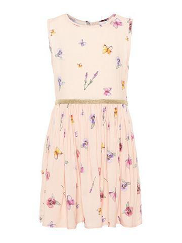 NAME IT Цветочным узором платье
