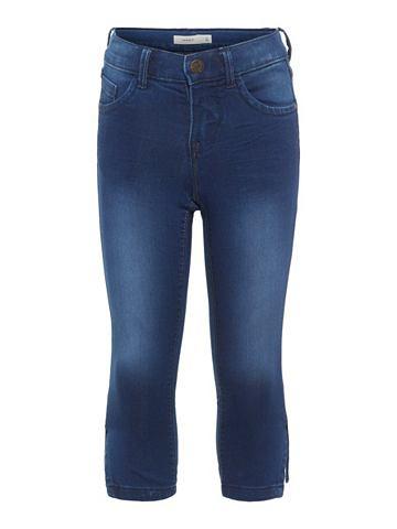 Облегающий форма капри джинсы