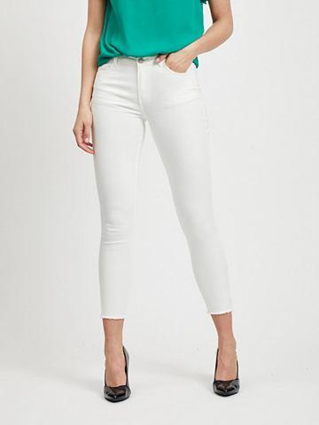 VILA Cropped облегающий форма джинсы