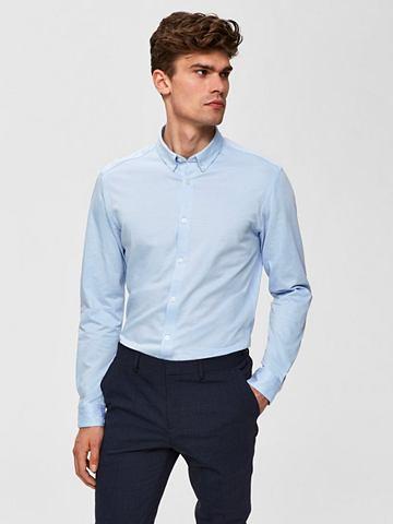 Узкий форма рубашка