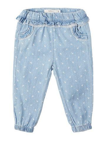 NAME IT Нежный Web джинсы