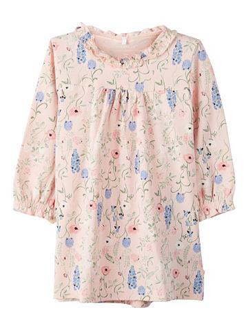 NAME IT Цветочным узором Baumwoll платье