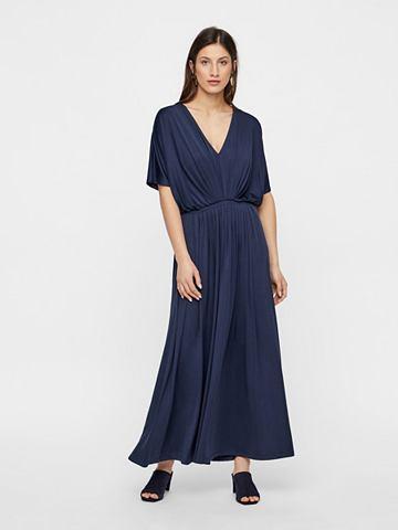 Y.A.S Faltenverziertes платье-макси длинное