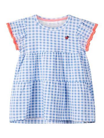 NAME IT Клетчатый Baumwoll платье