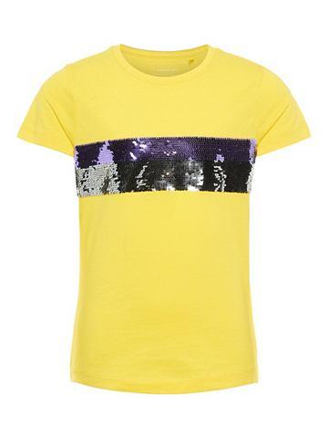 NAME IT Wendepailletten футболка