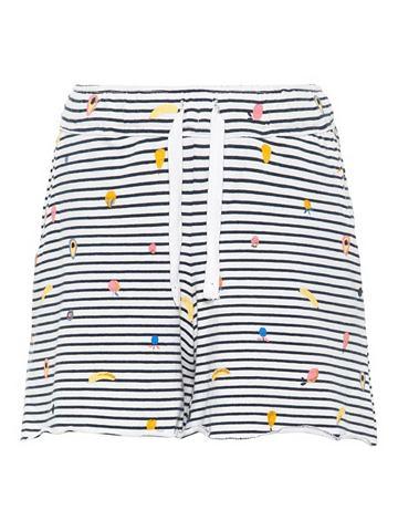 Полосатый Baumwoll шорты