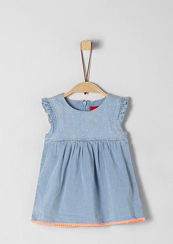 S.OLIVER RED LABEL JUNIOR Платье с оборка для Babys