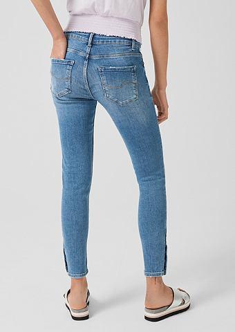 Q/S DESIGNED BY Sadie облегающие: укороченный джинсы