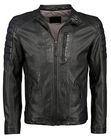 Куртка кожаная с senkrechter карман &r...