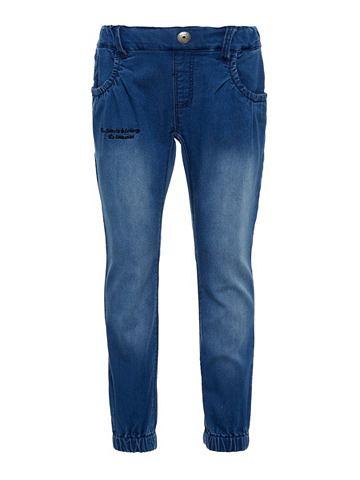 Regular форма Pull-On джинсы