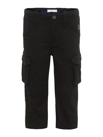 Regular форма Kарго брюки-капри
