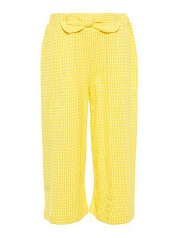 Клетчатая брюки кюлоты брюки