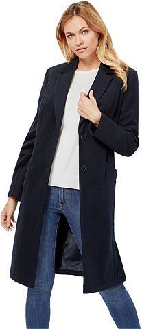 Шерстяное пальто с Schulterpolstern