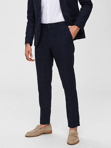 Лен костюмные брюки