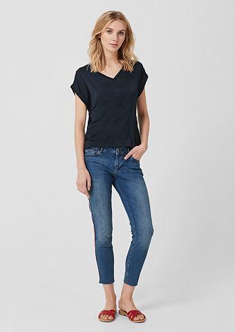 Блузка-рубашка в Fabric-Mix