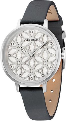 Часы »Flower of Life Silver Blac...