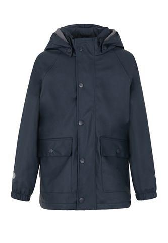 PU куртка-дождевик m. съемный капюшон