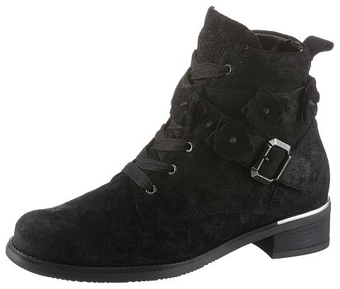 Туфли на удобной подошве ботинки со шн...