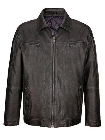 Куртка в из искусственной кожы