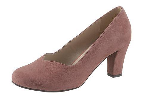 Туфли в имитация замши