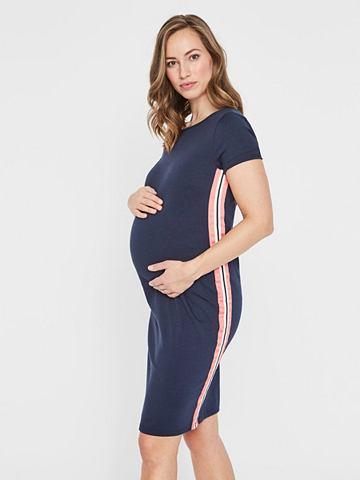 Streifendetail платье для беременных
