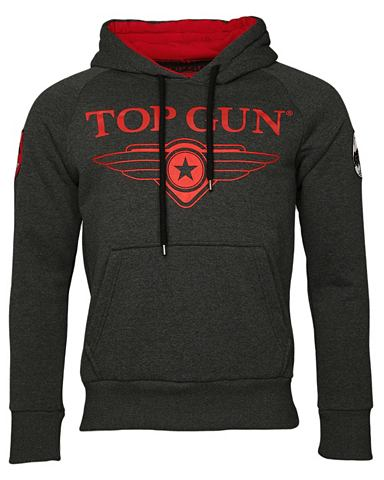 Топ GUN пуловер с капюшоном »Def...