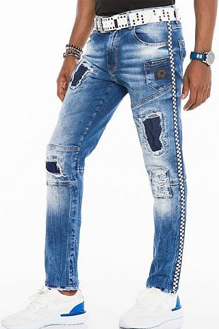 Cipo & Baxx Herren Ripped джинсы с...