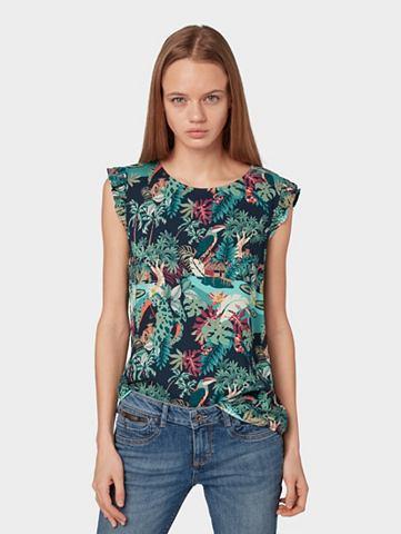 TOM TAILOR джинсы блузка-футболка Топ ...