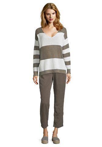 Трикотажный пуловер с Streifen